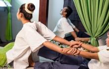 Khmer Traditional Massage, Herbal Bag