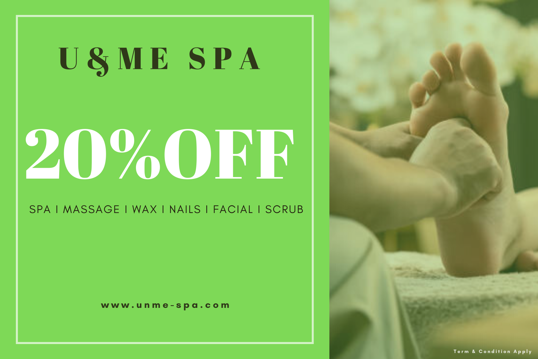 Spa Weekday Promotion